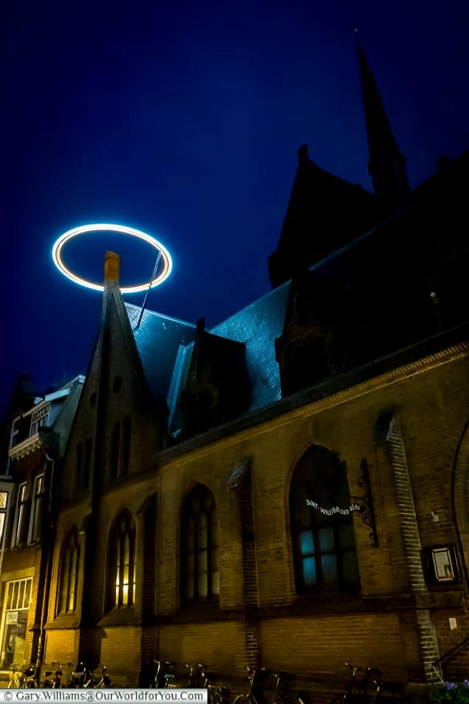Saintly illuminations, Trajectum Lumen, Utrecht, Netherlands
