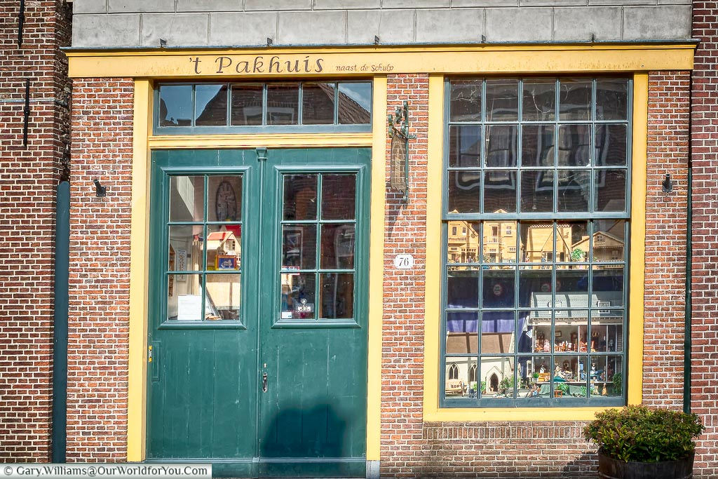 The dolls house maker in Monnickendam, Holland, Netherlands