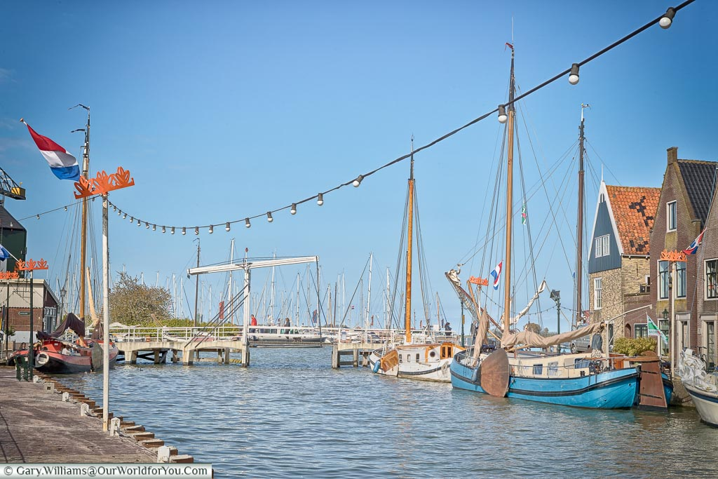 The quayside at Monnickendam, Holland, Netherlands
