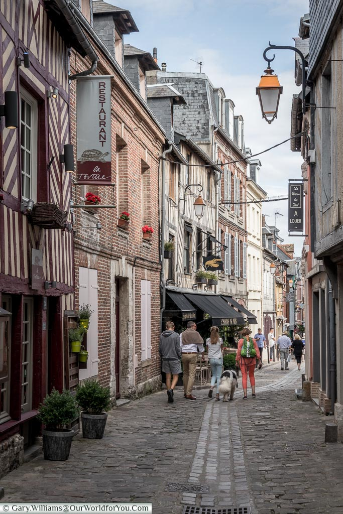 The quiet lanes, Honfleur, Normandy, France