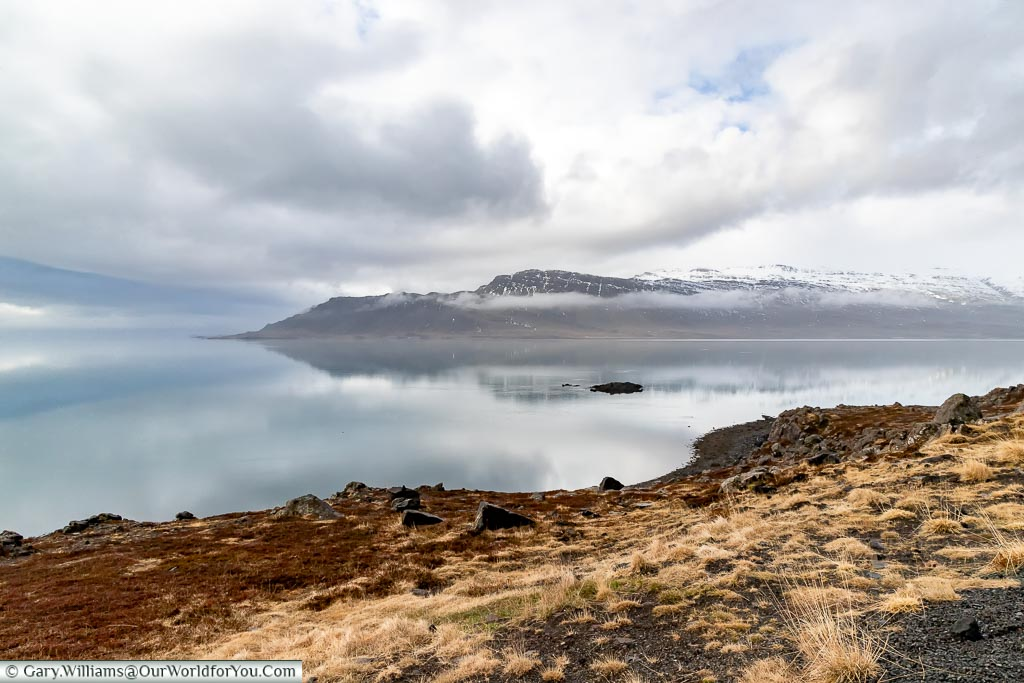 The dramatic south-east coast of Iceland