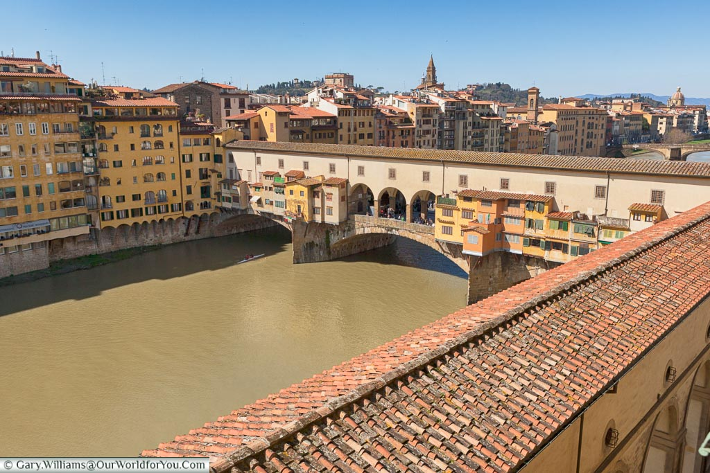 Vasari Corridor, Florence, Tuscany, Italy