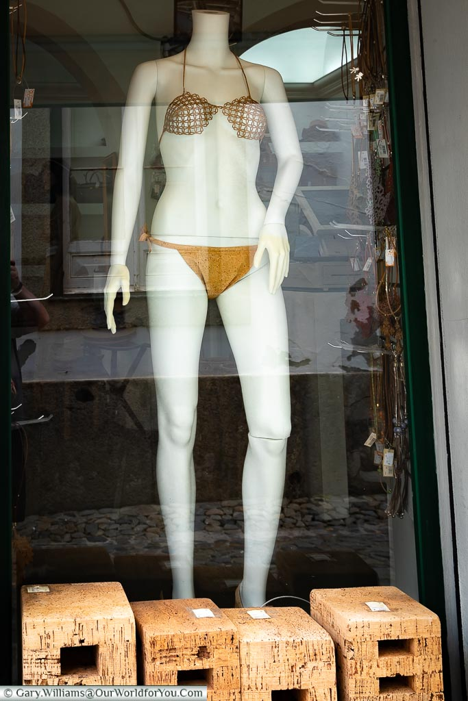 Really a cork Bikini, Évora, Portugal