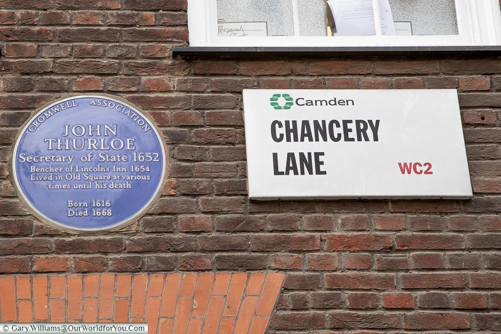 Chancery Lane, Streets of London, London, England, UK