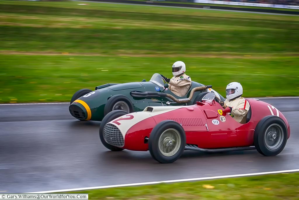 Duelling it out, Goodwood Revival, UK
