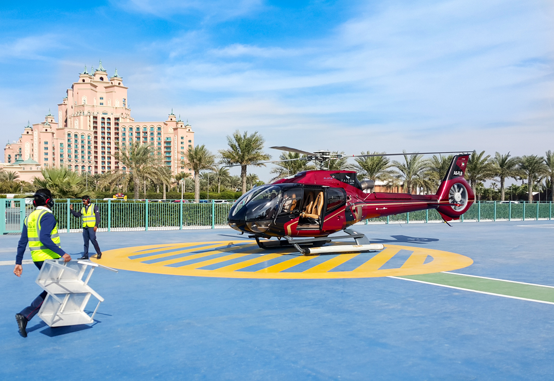 Helicopter Ride Over Dubai