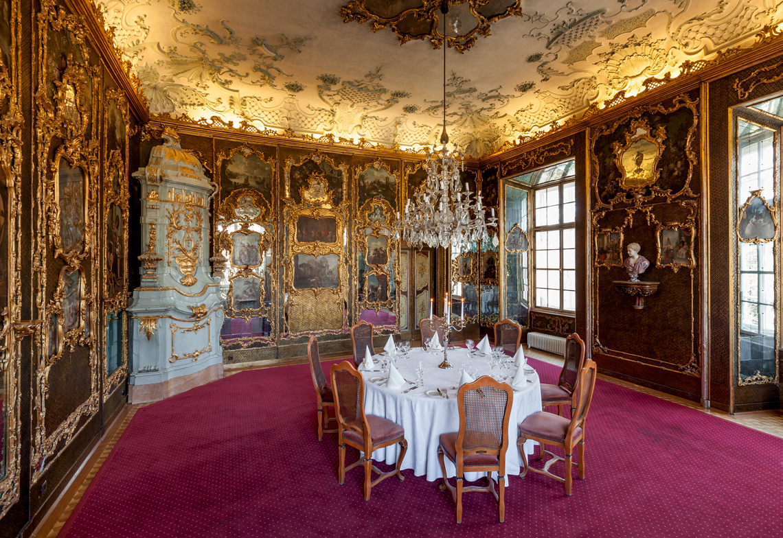 Checking in: Schloss Leopoldskron Austria