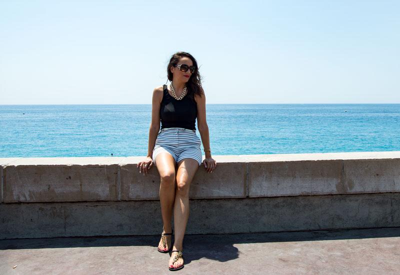 Cruising Along the Mediterranean Coast - Our World Travel Selfies