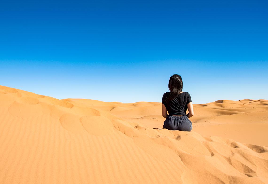 luxury desert camping