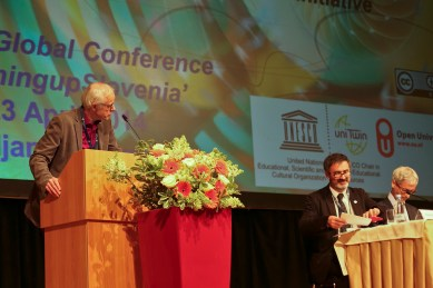 Fred Mulder, UNESCO Chair @ OCWC 2014