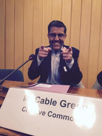 Cable Geen @ UNESCO OER Experts meeting