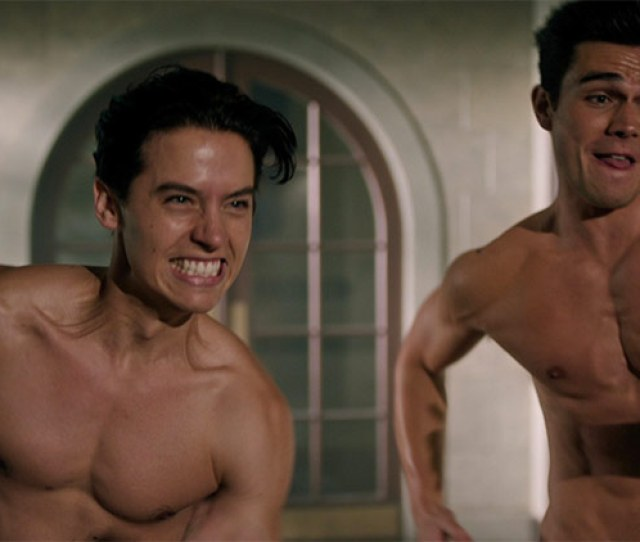 Cole Sprouse And Kj Apa Get Naked In This Weeks Riverdale