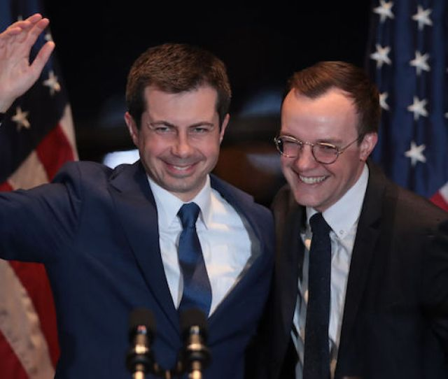 Watch Pete And Chasten Buttigiegs Powerful Speeches On Campaigns End