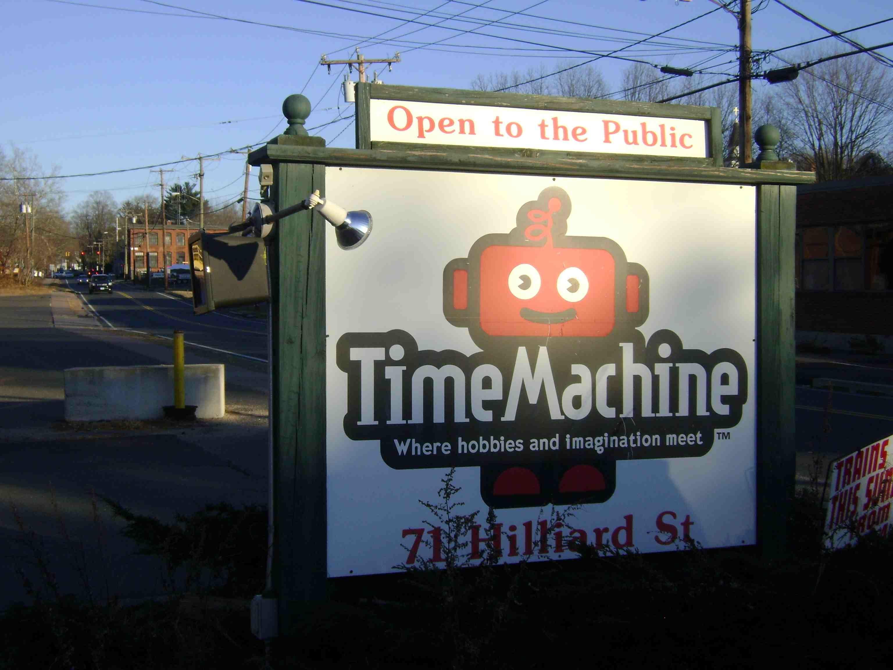 time machine and hobby
