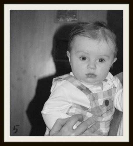 Five Months BW Numbered