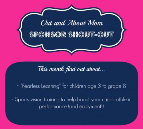 Sponsor Shout-Out June 2014