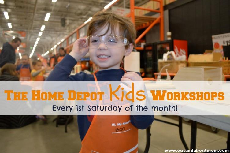 FREE Kids Workshops At The Home Depot