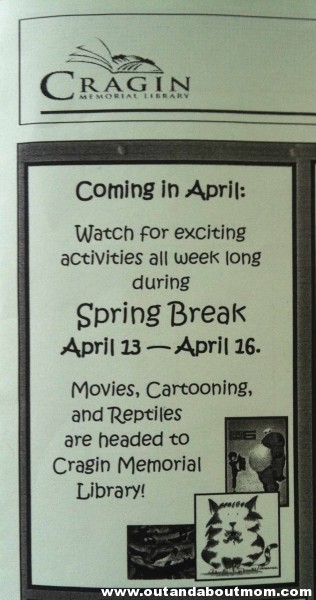 April Break Activities