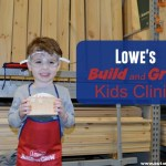 FREE Lowe's Build and Grow Kids Clinics