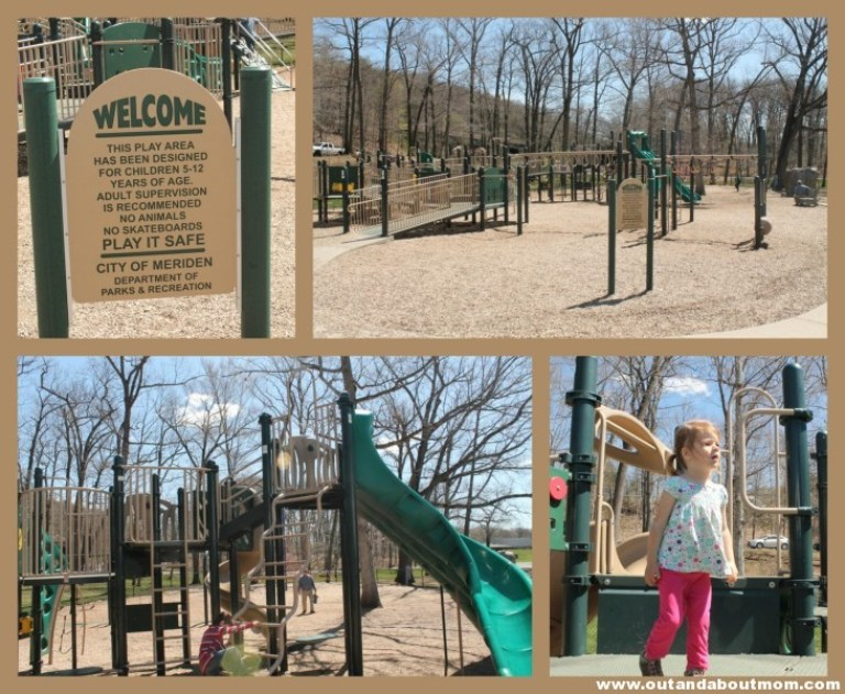 Hubbard Park_Meriden_Out and About Mom_Things to do with kids in Connecticut_playground 2