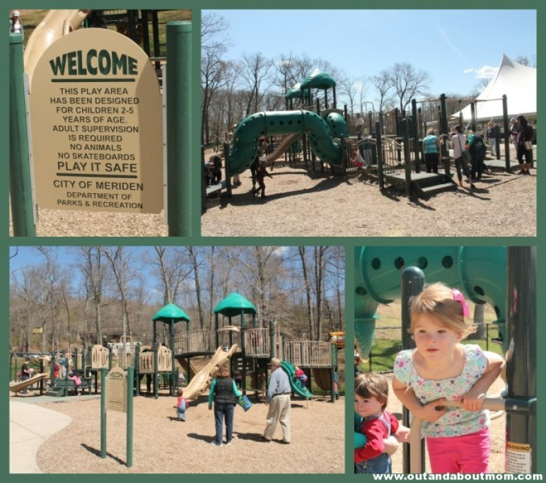 Hubbard Park_Meriden_Out and About Mom_Things to do with kids in Connecticut_playground