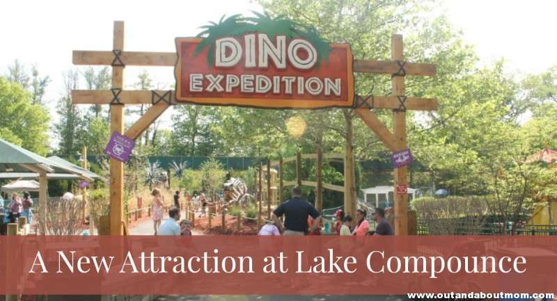 #LakeCompounce_#Dinoexpedition_Out and About Mom_Main Image