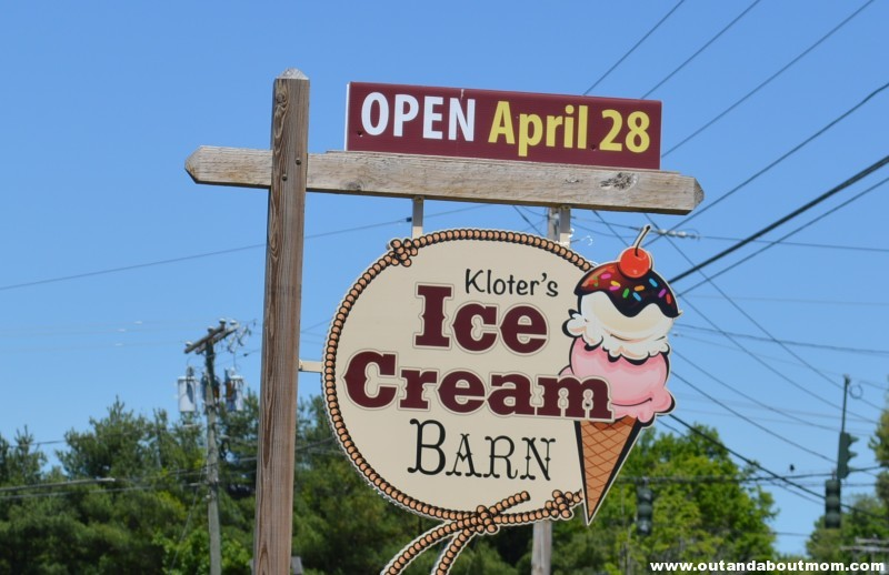Kloter Farms Ice Cream Barn Sign