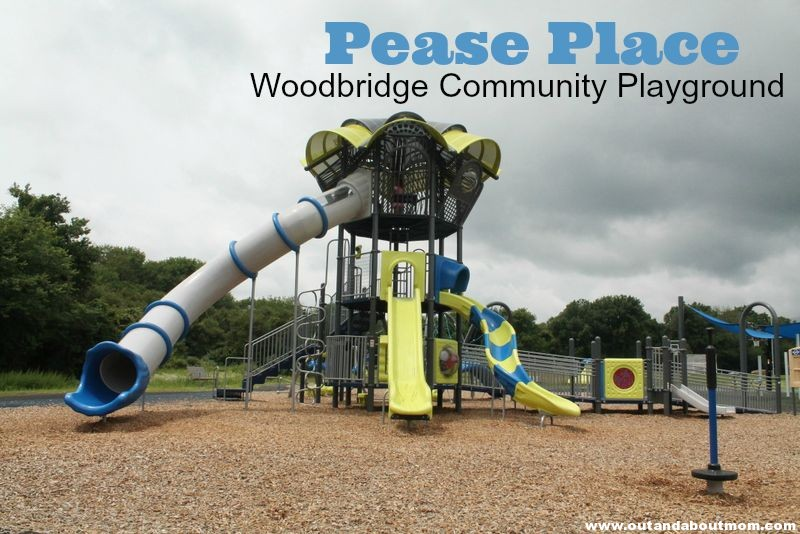 Pease Place_Playground_Out and About Mom_Woodbridge_Main Image