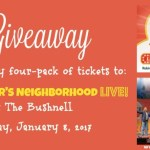 GIVEAWAY: Family Four-Pack of Tickets to Daniel Tiger's Neighborhood LIVE! at The Bushnell