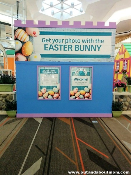 Easter Bunny Sighting at Westfarms' Bunnyville