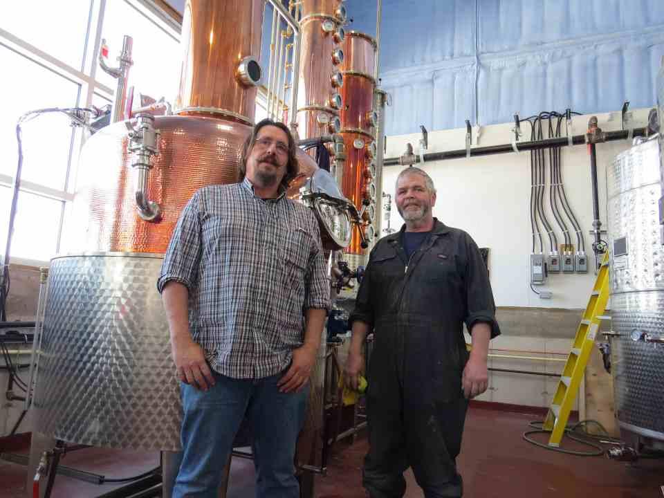 Thomas Steinhart at Steinhart Distillery
