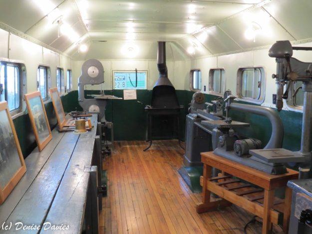 Shopmobile. Industrial arts bus that went to schools.