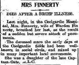 The Evening Star 17th Nov 1911