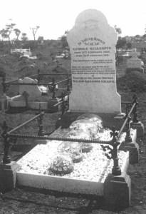 George Gillespie - Kalgoorlie Cemetery