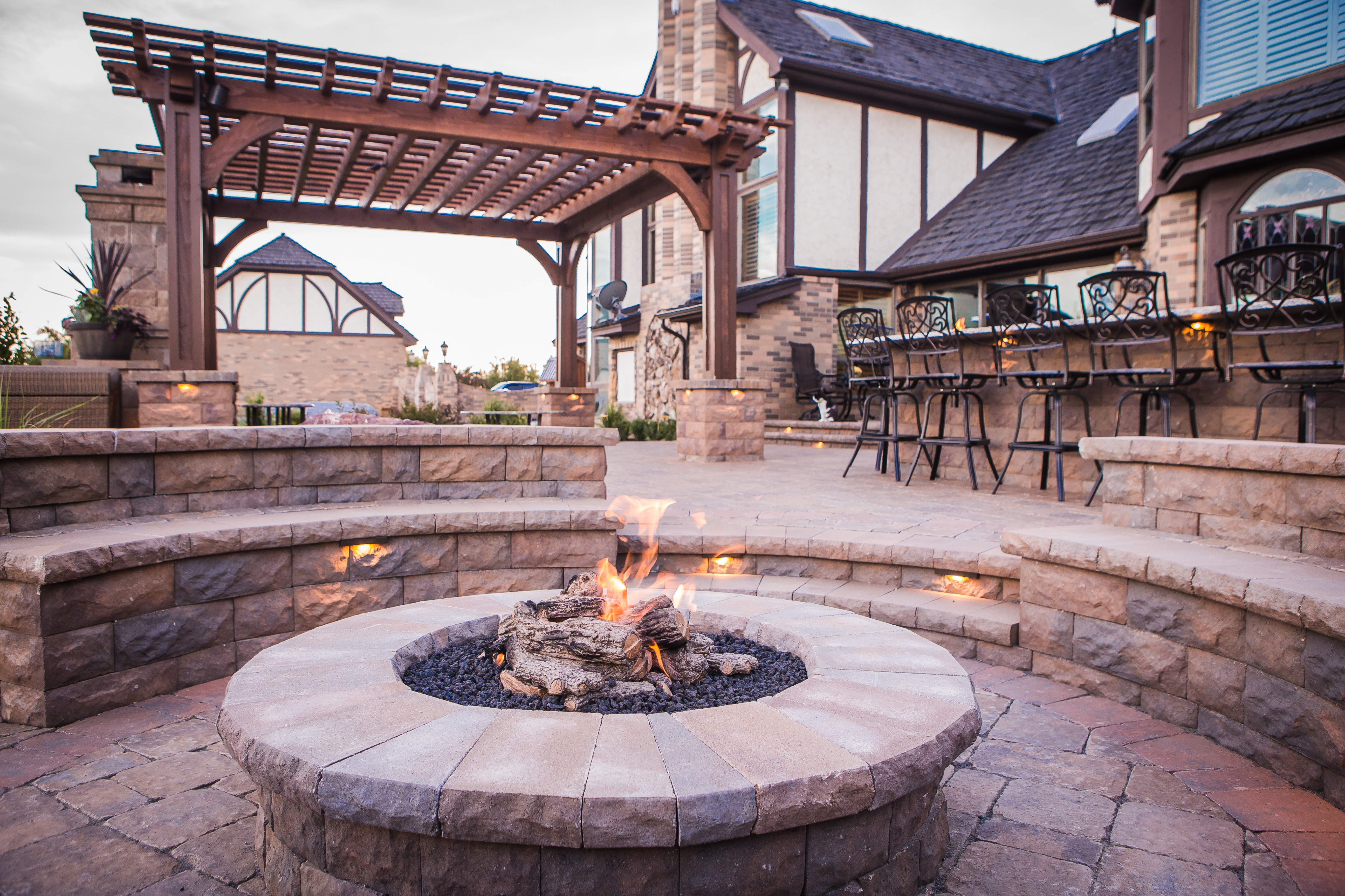 Backyard Fire Pits: The Ultimate Guide to Safe Design ... on Fireplace In Yard id=76491