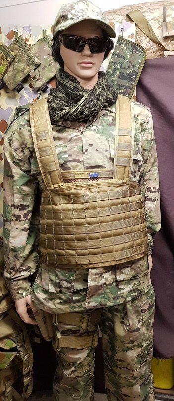 Molle Battle Bra Coyote