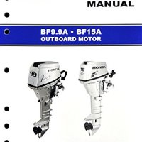 Honda BF9.9 BF15 Marine Outboard Service Repair Shop Manual