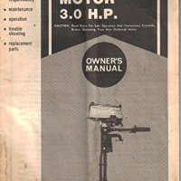 Sears Gamefisher Outboard Motor 3.0 hp Owner's Manual, Model 298.586194