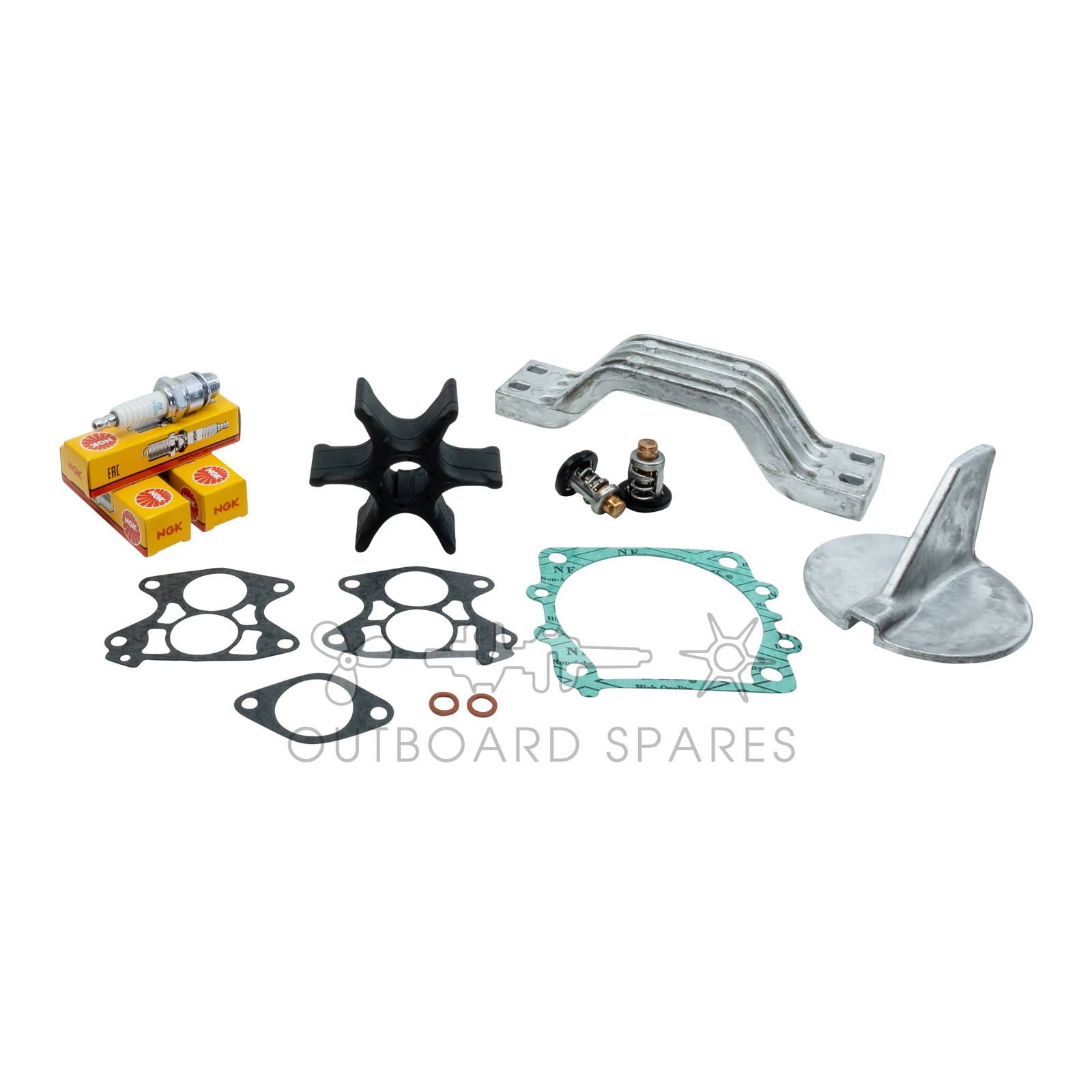 Yamaha Annual Service Kit With Anodes For 115hp V4 2