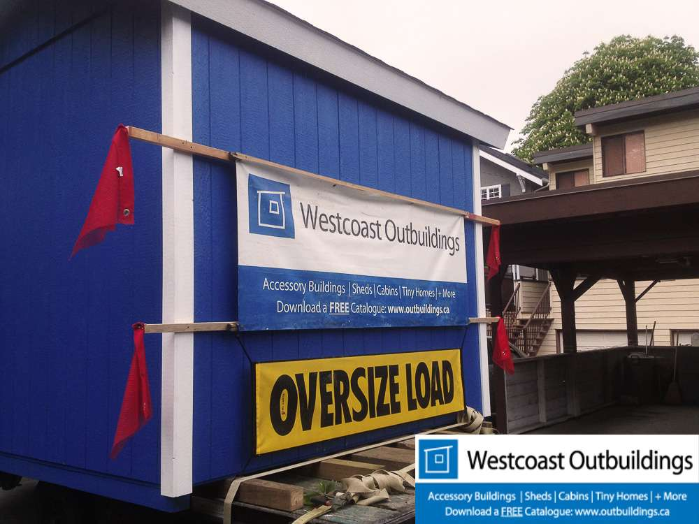 10 X 10 Modular Prefab Motorcycle Garage In Vancouver Bc