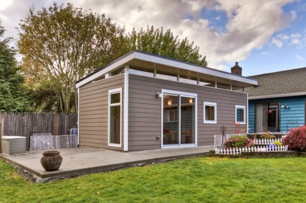 Modern-Shed Prefab Guesthouse Kit