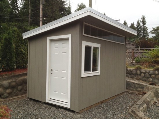 Contemporary North Vancouver  Garden Shed