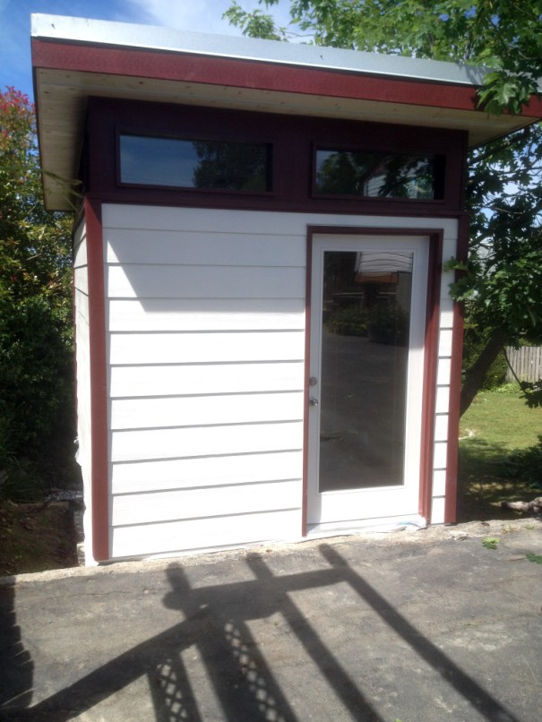 Powell River Shed Outbuilding Backayard Office Modular