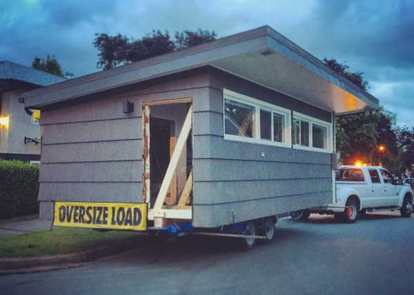 Vancouver Shed Moving Service
