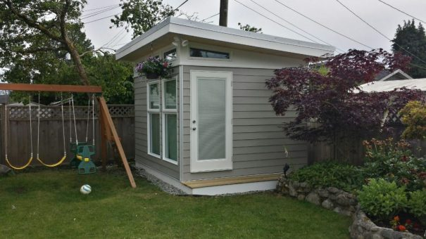 10x12 North Vancouver Backyard Office