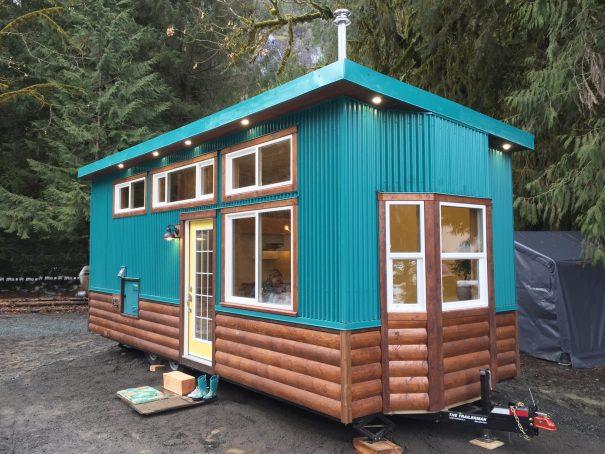 Skookum 26' Tiny House by Westcoast Outbuildings