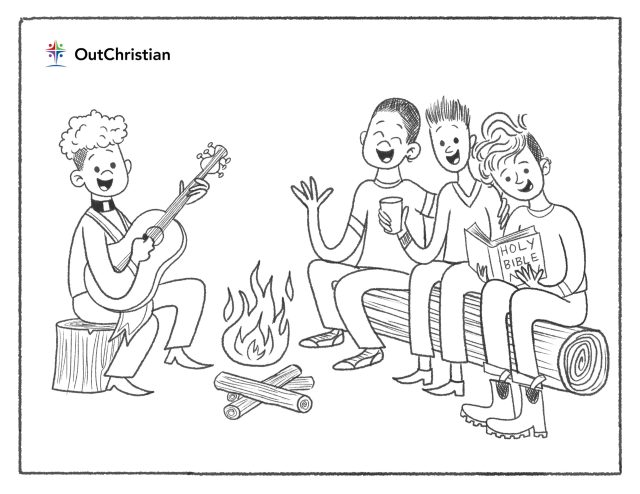 Have Some Fun With These LGBTQ Christian Coloring Pages - OutChristian