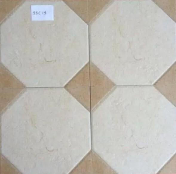 elegant glazed rustic ceramic tile flooring with oem low water absorption