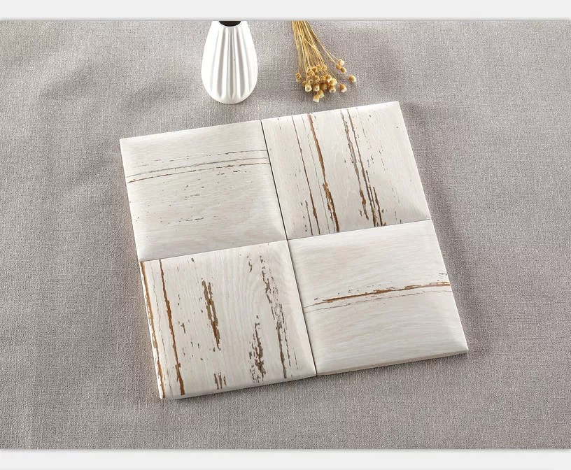 luxury style white porcelain subway tile for bathroom and kitchen decoration