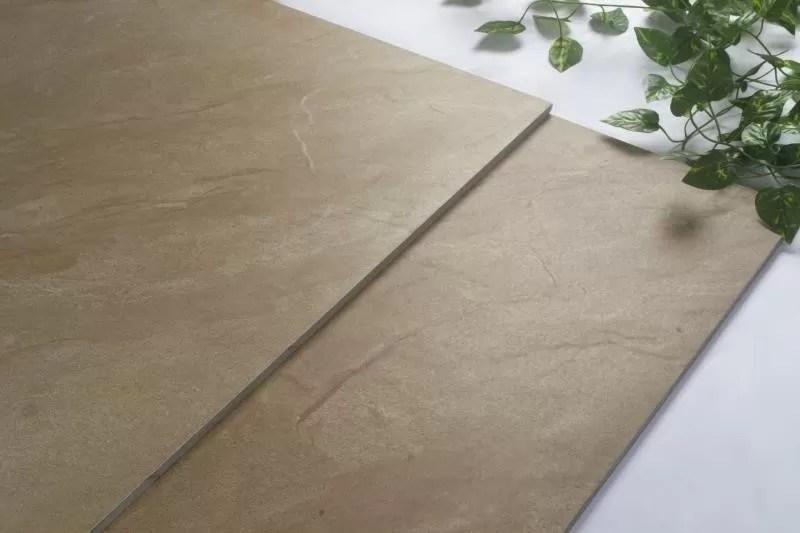 sandstone porcelian rustic floor tile beige color non slip ceramic tile